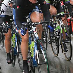 WEVELGEM (BEL) wielrennen: De vrouweneditie van Gent-Wevelgem werd onder epische omstandigheden verreden. Wind en regen waren naast de heuvels de tegenstander van het vrouwenpeloton.<br /> Vera Koedooder