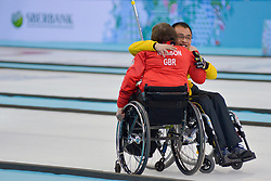 Aileen Neilson, Qiang Zhang, Wheelchair Curling Finals at the 2014 Sochi Winter Paralympic Games, Russia