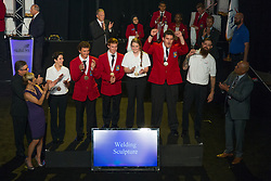The 2017 SkillsUSA National Leadership and Skills Conference Competition Medalists were announced Friday, June 23, 2017 at Freedom Hall in Louisville. <br /> <br /> Welding Sculpture<br /> <br /> Jonathan y Watson<br />   High School Cumberland County Regional Technical Education Cen<br />   Gold Vineland, NJ<br /> Welding SculptureSamuel Rishel<br />   High School Sun AreaTechnical Institute<br />   Silver New Berlin, PA<br /> Welding SculptureCalvin Tohm<br />   High School Spearfish High School<br />   Bronze Spearfish, SD<br /> Welding SculptureErin Beaver<br />   College Penn College of Tech<br />   Gold Williamsport, PA<br /> Welding SculptureSeth Cromer<br />   College George Stone Center<br />   Silver Pensacola, FL<br /> Welding SculptureBri Bader<br />   College Anoka Tech College<br />   Bronze Anoka, MN