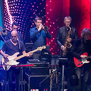 NLD/Hilversum/20180209 - 3e Liveshows The voice of Holland 2018, band