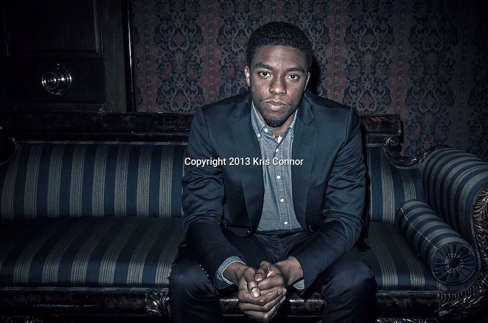 Actor Chadwick Boseman, Washington DC, 2013.