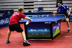 GRUDZIEN Piotr of Poland during SPINT 2018 Table Tennis world championship for the Disabled, Day One, on October 17th, 2018, in Dvorana Zlatorog, Celje, Slovenia. . Photo by Grega Valancic / Sportida