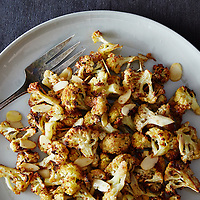 Roasted Spiced Almond and Cauliflower