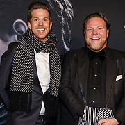 NLD/Amsterdam/20150211 - Premiere Fifty Shades of Grey, Bastiaan van Schaik en partner