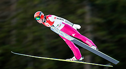19.12.2014, Nordische Arena, Ramsau, AUT, FIS Nordische Kombination Weltcup, Skisprung, PCR, im Bild Johannes Rydzek (GER) // during Ski Jumping of FIS Nordic Combined World Cup, at the Nordic Arena in Ramsau, Austria on 2014/12/19. EXPA Pictures © 2014, EXPA/ JFK