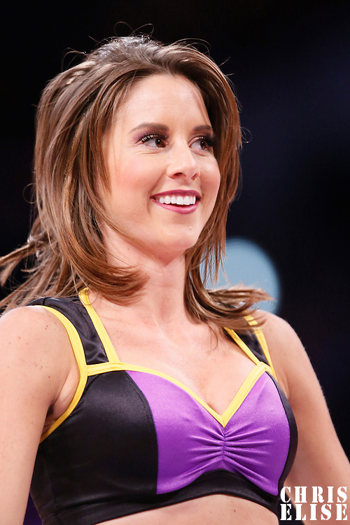 17 November 2013: A Laker Girl is seen during the Los Angeles Lakers 114-99 victory over the Detroit Pistons at the Staples Center, Los Angeles, California, USA.