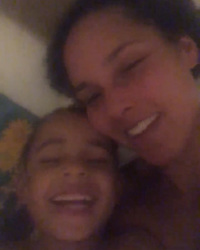 """Alicia Keys releases a photo on Instagram with the following caption: """"This song, \u201cRaise A Man\u201d.\nWouldn\u2019t the girl who wrote \u201ca woman\u2019s worth\u201d and \u201csuperwoman\u201d and \u201cgirl on fire\u201d be the person to raise a man?\n\nI feel so blessed to raise MY boys\n\nI love every part of it...\nThe crazy rowdy times and the many times that I have to break down the stigma and the old ways of thinking about what makes a man a man.\nI love how different they are from each other and how much they teach me.\nI love the patience I have to muster and the ways I have to check myself so I don\u2019t keep teaching them old habits that even I\u2019m still trying to learn to break. \nSo how about you? There are SO many ways that this song can be interpreted. I have more to share but for now tell me your story.... \ud83d\udc49\ud83c\udffd #RaiseAMan (check my story \u2764\ufe0f\u2764\ufe0f\u2764\ufe0f)"""". Photo Credit: Instagram *** No USA Distribution *** For Editorial Use Only *** Not to be Published in Books or Photo Books ***  Please note: Fees charged by the agency are for the agency's services only, and do not, nor are they intended to, convey to the user any ownership of Copyright or License in the material. The agency does not claim any ownership including but not limited to Copyright or License in the attached material. By publishing this material you expressly agree to indemnify and to hold the agency and its directors, shareholders and employees harmless from any loss, claims, damages, demands, expenses (including legal fees), or any causes of action or allegation against the agency arising out of or connected in any way with publication of the material."""
