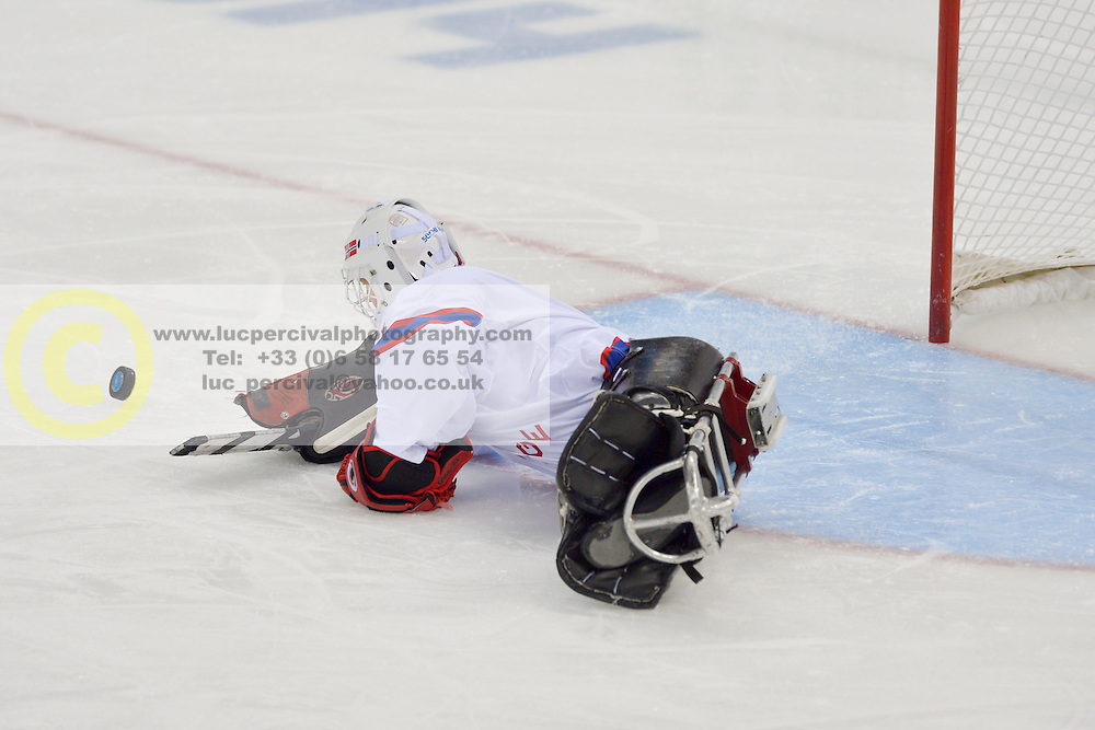 Ice Sledge Hockey,  RUS v NOR at the 2014 Sochi Winter Paralympic Games, Russia