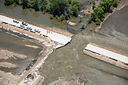 Infrastucture damage caused in 2008 by Iowa floods.