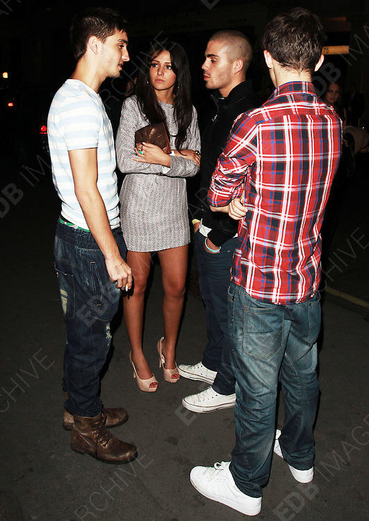11.JUNE.2011. LONDON<br /> <br /> ACTRESS MICHELLE KEEGAN WITH THE WANTED AT MERAH IN LONDON<br /> <br /> BYLINE: EDBIMAGEARCHIVE.COM<br /> <br /> *THIS IMAGE IS STRICTLY FOR UK NEWSPAPERS AND MAGAZINES ONLY*<br /> *FOR WORLD WIDE SALES AND WEB USE PLEASE CONTACT EDBIMAGEARCHIVE - 0208 954 5968*