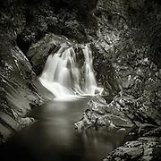 Upper falls of Bruar, Perthshire