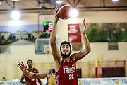 Matteo Da Ros<br /> Trieste - Sencur<br /> Amichevole precampionato <br /> Legabasket Serie A 2019-20<br /> Parma, 14/09/2019<br /> Foto Ciamillo-Castoria