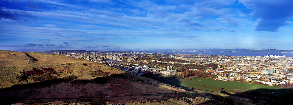 Late Morning over Salisbury Craggs, Edinburgh