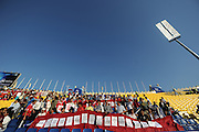 China fans in the Al Gharafa Stadium in Doha, Qatar