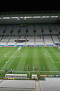 England players on the pitch during the England training session at Arena Corinthians, Sao Paulo, Brazil, on the eve of their World Cup 2014 Group D match against Uruguay.<br /> Picture by Andrew Tobin/Focus Images Ltd +44 7710 761829<br /> 18/06/2014