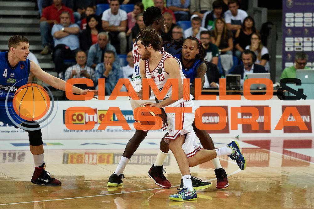 Jasaitis Simas<br /> Consultinvest Pesaro - Germani Basket Brescia<br /> BASKET Serie A 2016 <br /> Pesaro 02/10/2016 <br /> FOTO CIAMILLO