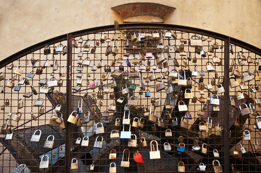 Love Padlocks, Borghetto Italy