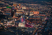 The last U.S. census named Las Vegas America's fastest growing city. Between 1990 and 2000, Sin City expanded by 3 percent in the downtown area and by over 12 percent in the outlying suburban areas. At night, the entire Las Vegas Valley glows.