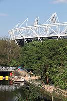Olympic Stadium London 2012 Olympic Park, London, UK, 22 April 2011:  Contact: Rich@Piqtured.com +44(0)7941 079620
