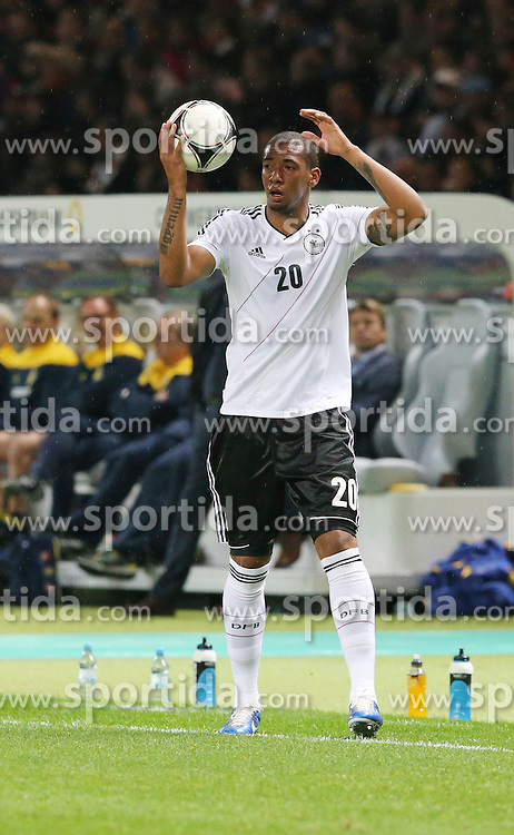 16.10.2012, Olympia Stadion, Berlin, GER, FIFA WM Qualifikation, Deutschland vs Schweden, im Bild Jerome BOATENG (Deutschland) // during the FIFA World Cup Qualifier Match between Germany and Sweden at the Olympic Stadium, Berlin, Germany on 2012/10/16. EXPA Pictures © 2012, PhotoCredit: EXPA/ Eibner/ Eckhard Eibner..***** ATTENTION - OUT OF GER *****