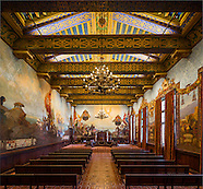 Mural Room at Santa Barbara Courthouse