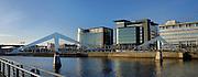Glasgow International Financial Services District overlooking the Tradeston Bridge