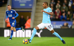 Fernandinho of Manchester City - Mandatory by-line: Alex James/JMP - 18/11/2017 - FOOTBALL - King Power Stadium - Leicester, England - Leicester City v Manchester City - Premier League