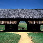Cantilevered Barn, Cades, Cove, Great Smoky Mountains National Park, Tennessee