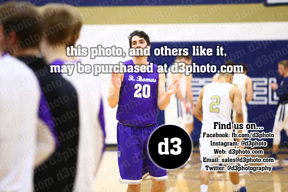 Men's Basketball: Bethel University (Minnesota) Royals vs. University of St. Thomas (Minnesota) Tommies