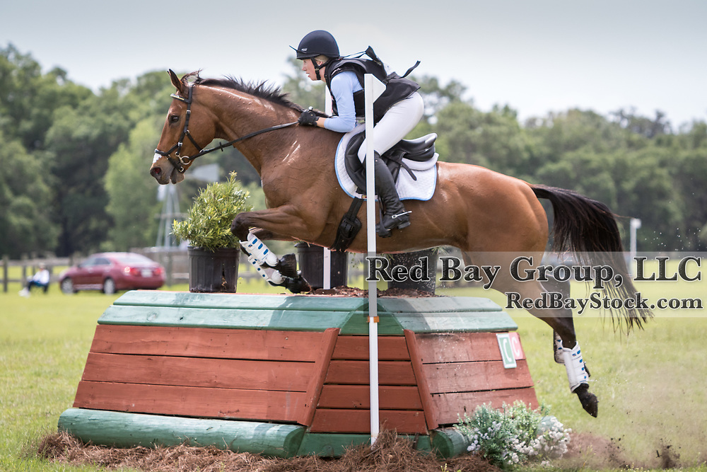 Laine Metz and Queen of Spades at the Ocala International in Ocala, Florida.