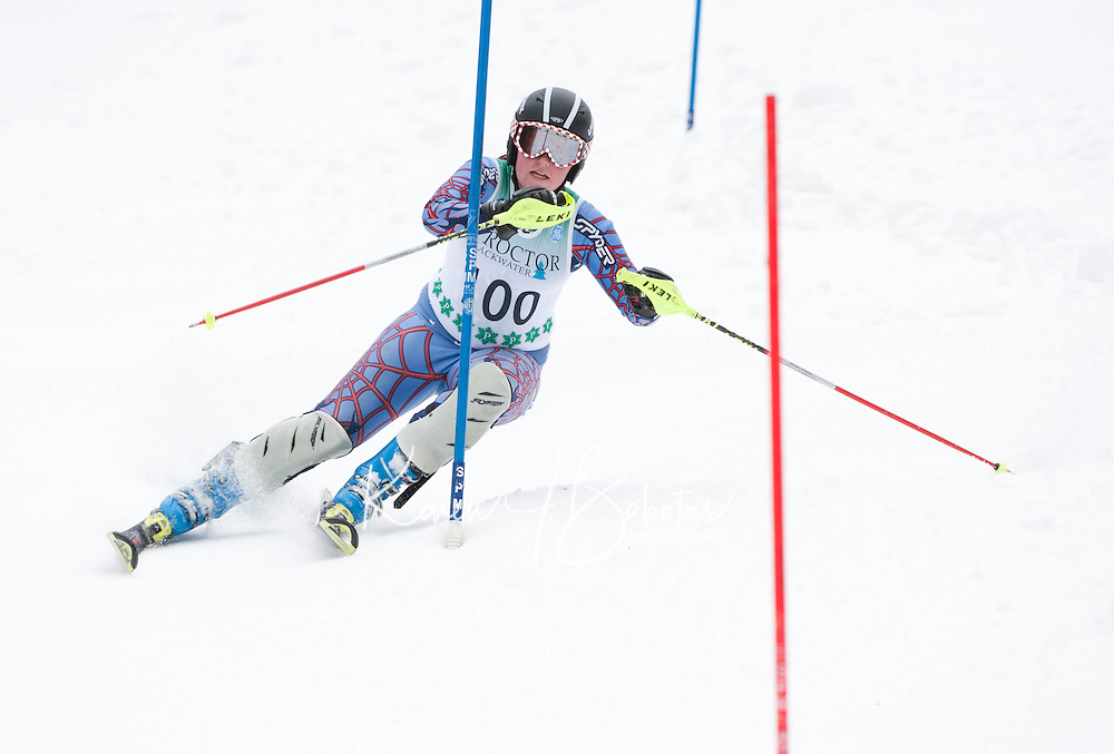 FIS NJR Ladies Slalom at Proctor/Blackwater  February 16,  2012.