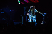 Erykah Badu performs during Summer Spirit Festival 2018 at Merriweather Post Pavilion in Columbia, MD on Saturday, August 4, 2018.