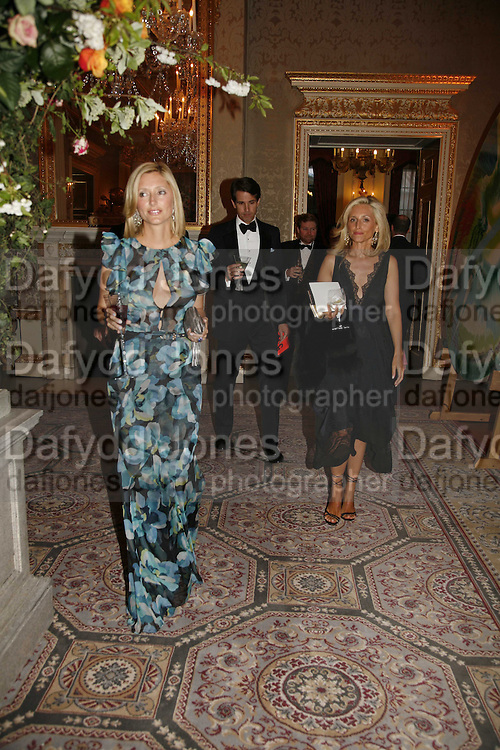 Princess Marie -Chantal of Greece AND PIA GETTY, Ark Gala Dinner, Marlborough House, London. 5 May 2006. ONE TIME USE ONLY - DO NOT ARCHIVE  © Copyright Photograph by Dafydd Jones 66 Stockwell Park Rd. London SW9 0DA Tel 020 7733 0108 www.dafjones.com