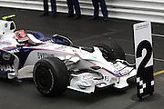 25.05.2008 Monte Carlo, Monaco, .2nd place Robert Kubica (POL),  BMW Sauber F1 Team - Formula 1 World Championship, Rd 6, Monaco Grand Prix, Sunday Podium .FOT. XPB.CC / WROFOTO.*** POLAND ONLY !!! ***.*** NO INTERNET / MOBILE USAGE !!! ***