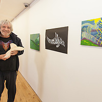 Jan Ploeg's love of dolphins inspired him to work towards re creating the movement of dolphins in his art work