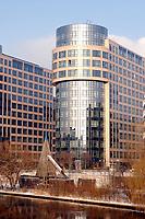 07 JAN 2003, BERLIN/GERMANY:<br /> Gebaeudeansicht Bundesministerium des Inneren <br /> IMAGE: 20030107-01-023<br /> KEYWORDS: Bundesinnenministerium, Ministry of the Interior