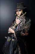 Street Fashion by Ki Price at Somerset House,London Fashion Week AW13 Friday 15, February 2013.