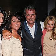 NLD/Amsterdam/20120503 - Lancering Rafael Magazine, Rafael van der Vaart en partner Sylvie van der Vaart - Meis, moeder Lolita, vader Ramon van der vaart en broer Fernando