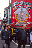 Rossington Branch banner, Miners Gala Wakefield