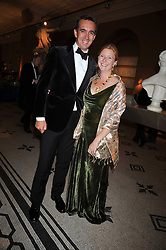 PRINCE & PRINCESS PETER FRANKOPAN at a dinner to celebrate the opening of 'Maharaja - The Spendour of India's Royal Courts' an exhbition at the V&A, London on 6th October 2009.