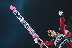 19.01.2020, Hochfirstschanze, Titisee Neustadt, GER, FIS Weltcup Ski Sprung, Siegerehrung, im Bild Sieger Dawid Kubacki (POL) // Winner Dawid Kubacki of Poland during the winner ceremony for the FIS Ski Jumping World Cup at the Hochfirstschanze in Titisee Neustadt, Germany on 2020/01/19. EXPA Pictures © 2020, PhotoCredit: EXPA/ JFK