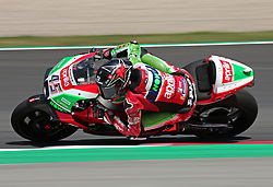 May 23, 2018 - Barcelona, Spain - Scott Redding (Aprilia) during the Moto GP test in the Barcelona Catalunya Circuit, on 23th May 2018 in Barcelona, Spain. (Credit Image: © Joan Valls/NurPhoto via ZUMA Press)