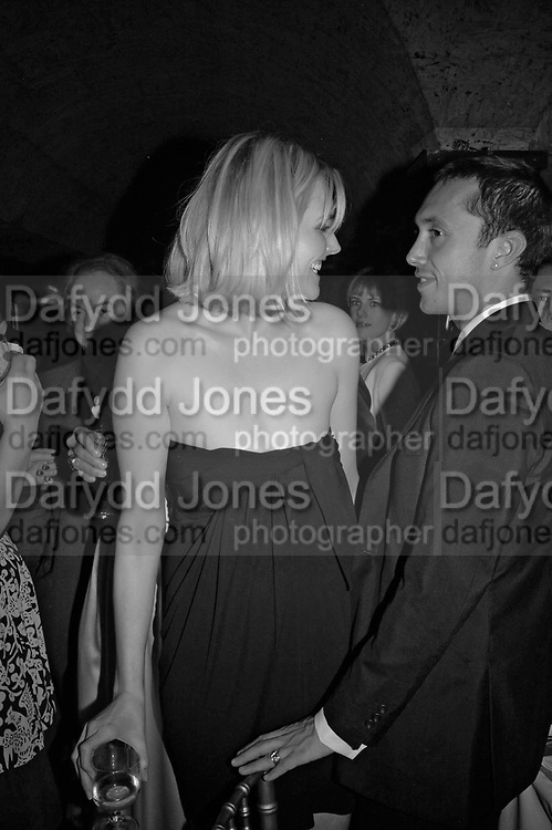 Sophie Dahl and Dan Macmillan,  Charles Finch and Chanel 7th Anniversary Pre-Bafta party to celebratew A Great Year of Film and Fashiont at Annabel's. Berkeley Sq. London W1. 10 February 2007. -DO NOT ARCHIVE-© Copyright Photograph by Dafydd Jones. 248 Clapham Rd. London SW9 0PZ. Tel 0207 820 0771. www.dafjones.com.