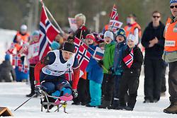 KOCHEROVA Natalia, RUS, Short Distance Biathlon, 2015 IPC Nordic and Biathlon World Cup Finals, Surnadal, Norway
