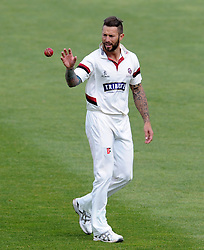 Somerset's Peter Trego - Photo mandatory by-line: Harry Trump/JMP - Mobile: 07966 386802 - 29/04/15 - SPORT - CRICKET - LVCC Division One - County Championship - Somerset v Middlesex - Day 4 - The County Ground, Taunton, England.