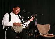 Jerron Paxton during the 2012 Black Banjo and Fiddle Gathering in Boone NC