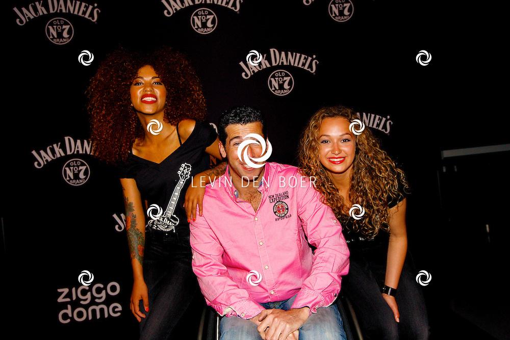 AMSTERDAM - In de Ziggo Dome is de eerste officiële Jack Daniel's bar in Europa geopend. Met op de foto  Marc de Hond. FOTO LEVIN DEN BOER - PERSFOTO.NU