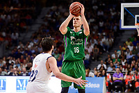 Real Madrid's Sergio Llull and Unicaja Malaga's Nemanja Nedovic during semi finals of playoff Liga Endesa match between Real Madrid and Unicaja Malaga at Wizink Center in Madrid, May 31, 2017. Spain.<br /> (ALTERPHOTOS/BorjaB.Hojas)