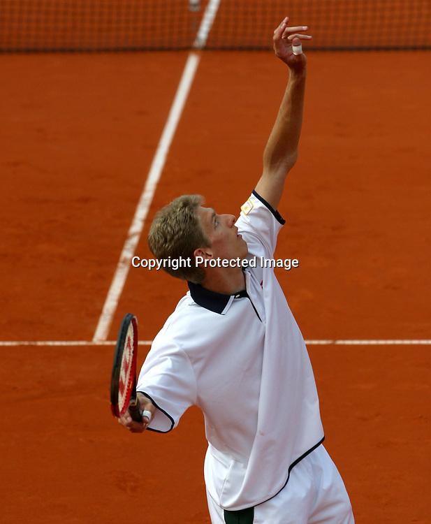 Sport,Tennis, ATP Turnier, BMW Open 2002,<br />MPTC Iphitos,  Spieler Alexander Popp (Ger),<br />Muenchen 01.05.2002<br />Foto:Juergen Hasenkopf