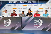 VOR, Skippers press conference